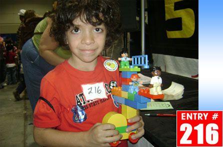 Andrew's Lego Creation