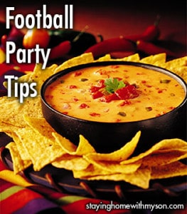 Super Bowl Football Party Tips - Queso Dip